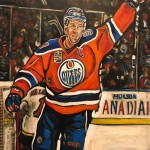Connor McDavid from the Edmonton Oilers