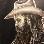 Chris Stapleton Painting by Buddy Owens