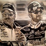 Dale Earnhardt Sr. and Jr.