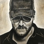 Eric Church Painting by Buddy Owens