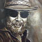 Hank Williams Jr. Painting