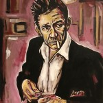 Johnny Cash Painting by Buddy Owens